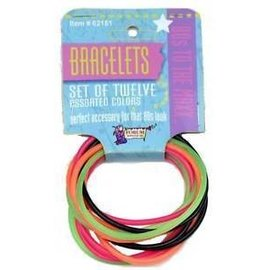 Forum Novelties 80's 12 pc Bracelet Set (C4)
