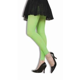Forum Novelties Neon Green Footless Tights (C4)