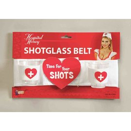 Forum Novelties Hospital Honey Shot Glass Belt (C11)