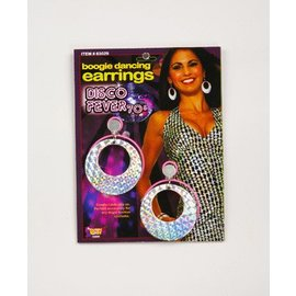 Forum Novelties Boogie Dancing Disco Earrings  C3