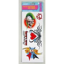 Forum Novelties 80s Tattoos 6 in x 9 in