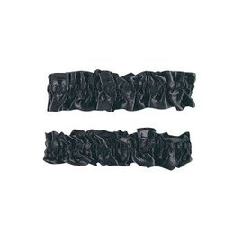 Forum Novelties Garter Armbands - Pair, Black