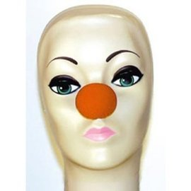 Magic By Gosh Red Sponge Clown Nose 1 1/2 inches
