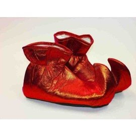 Forum Novelties Elf Shoes - Slippers Red (C15)