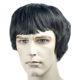 Lacey Costume Wig Bargain Beatles Style Wig - Black