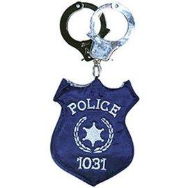 Rasta Imposta Police Badge Costume Handbag