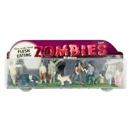 Accoutrements Glow in the Dark Zombies Play Set