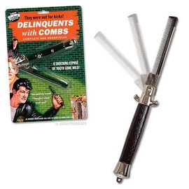 Accoutrements Switchblade Comb