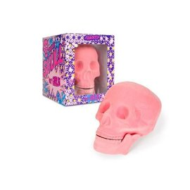 Accoutrements Pink Flocked Skull for Girls