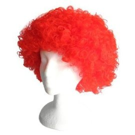Lacey Costume Wig Afro Bargain, Red - wig