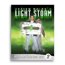 Andrew Mayne Book - Light Storm by Andrew Mayne (M7)