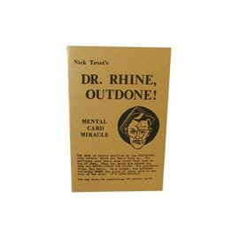 Hades Publications Dr. Rhine Outdone by Nick Trost - Book (M7)