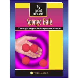 Trickmaster Magic 25 Tricks With Sponge Ball Booklet (M12)