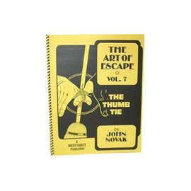 Hades Publications Book - The Art of Escape - Volume 7 - Thumb Tie (M7)