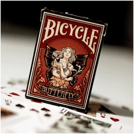 U.S. Playing Card Company Butterfly Bicycle Deck by US Playing Card
