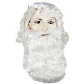 Lacey Costume Wig Santa 367CV2 Wig And Beard Set  (/202)
