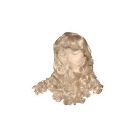 Lacey Costume Wig 3 pc. Santa Wig And Beard Set (/201)