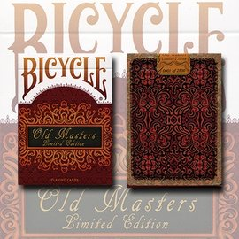 United States Playing Card Compnay Bicycle Old Masters Playing Cards (Numbered Limited Edition Tuck and back card) by Collectable Playi