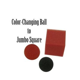 Magic By Gosh Color Changing Ball to Jumbo Square (M13)