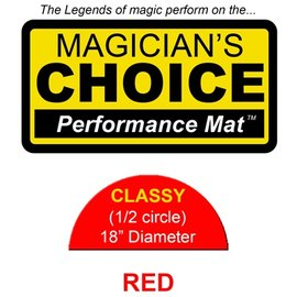 Ronjo Classy Close-Up Mat - Flame Red Perfromance