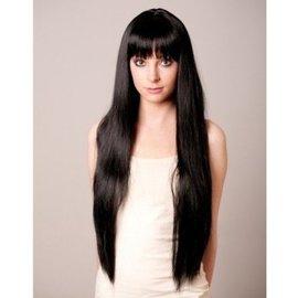 Loftus International Long Flowing Black Wig