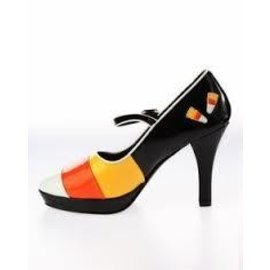 Pleaser USA Contessa Shoes-55 (Candy Corn) 6