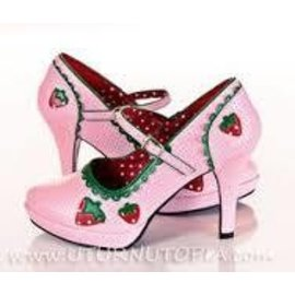 Funtasma Contessa Shoes-58 (Strawberry) Size 7
