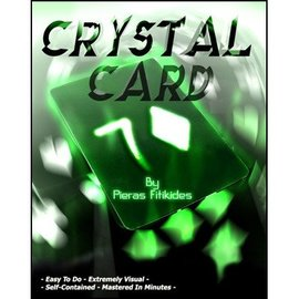 Pieras Fitikides Crystal Card by Pieras Fitikides (M10)