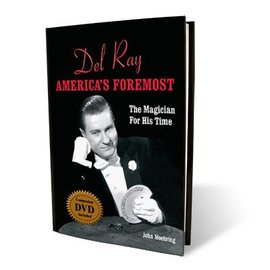 Murphy's Magic Book/DVD - Del Ray America's Foremost by John Moehring (M7)