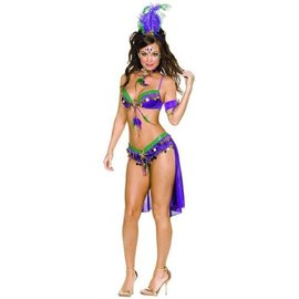 Dreamgirl International Mardi Gras Queen, Large by Dreamgirl