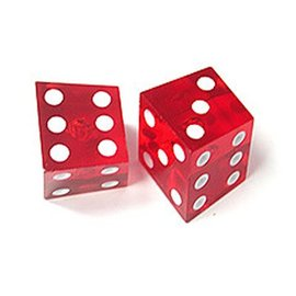 Forum Novelties Crooked Dice 2-pack
