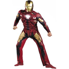 Disguise Iron Man Mark VII Classic Muscle 50-52