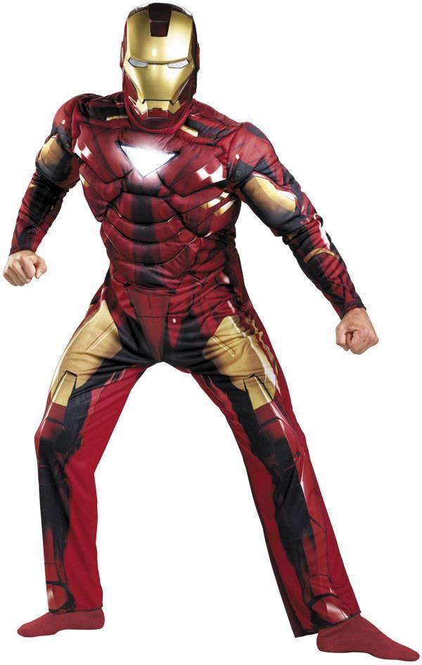 Iron man mark vii classic muscle 50 52 ronjo magic - Masque iron man adulte ...