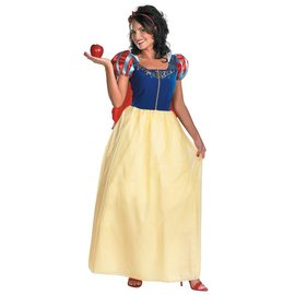 Disguise Snow White Deluxe - Adult Size 22-24