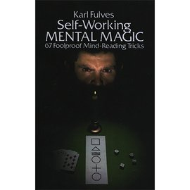 Dover Publications Self Working Mental Magic by Karl Fulves - Book (M7)