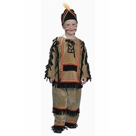 Dress Up America Indian Boy - Child Small 4-6