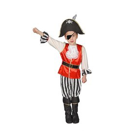 Dress Up America Tot/Child Deluxe Pirate Boy LG