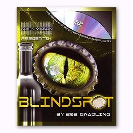JB Magic Blindspot, Gimmick and DVD by Bob Swadling (M10)
