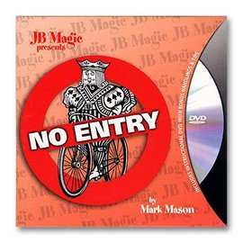 JB Magic Card - No Entry by Mark Mason (M10)