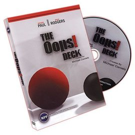 Oops Deck (Deck and DVD) by Michael Daniels - DVD (M10)