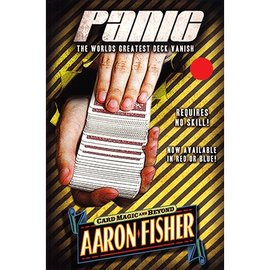 Aaron Fisher Panic, DVD and Gimmick, RED by Aaron Fisher (M10)