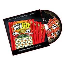 Automatic Mystery Powerball 60 - U.S., DVD and Gimmick by Richard Sanders and Bill Abbott (M10)