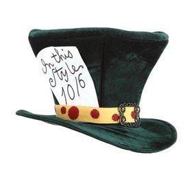 Elope The Mad Hatter Hat - Green