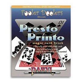 Fooler Doolers Card - Presto Printo by Daryl (M10)