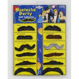 Steptoes Product Character Moustache - Assorted Each