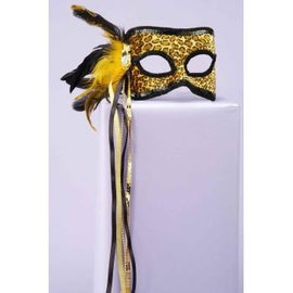 Forum Novelties Leopard Venetian Mask MJ569