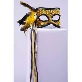 Forum Novelties Leopard Venetian Mask MJ569