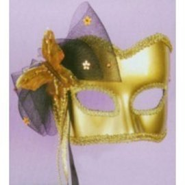 Forum Novelties Golden Butterfly Mask MJ650F