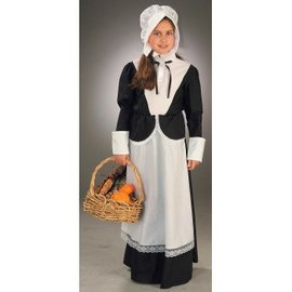 Forum Novelties Child Pilgrim Girl - Medium 8-10