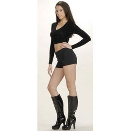 Forum Novelties Hot Little Black Shorts Size 8-10